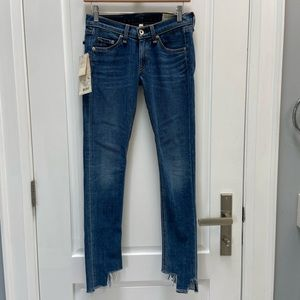 rag & bone Hampton skinny jeans size 23 NWT